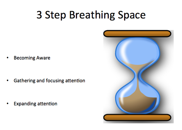 Breathing Spaces – finding a moment of calm